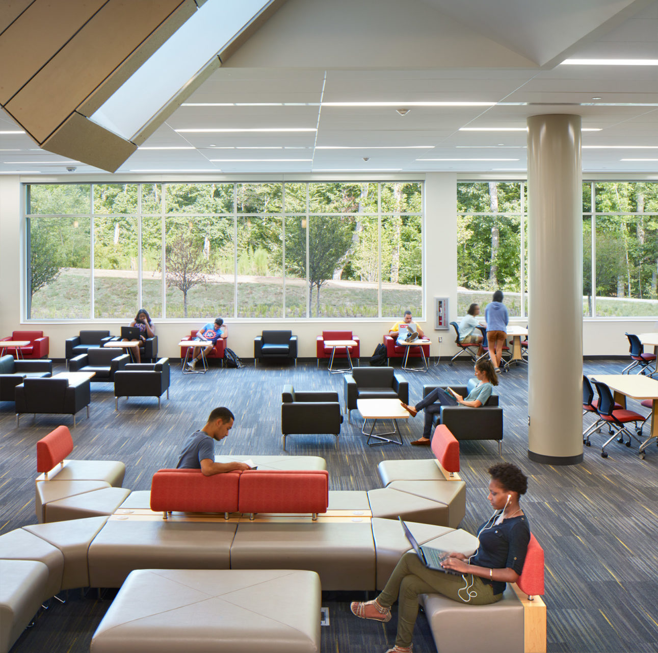 uilding F at Wake Tech Community College in Raleigh, NC; Architect: Clark Nexsen