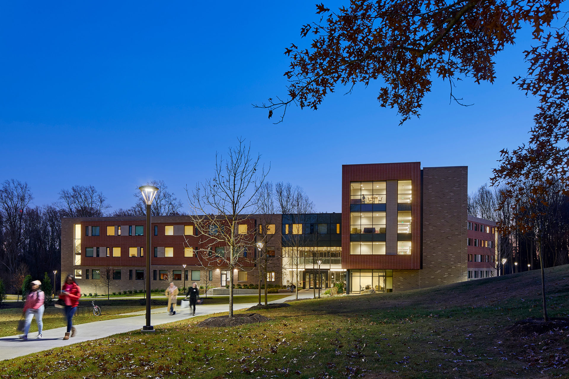 Orchard Residence Hall at Penn State Brandywine in Media, PA; Architect: Clark Nexsen