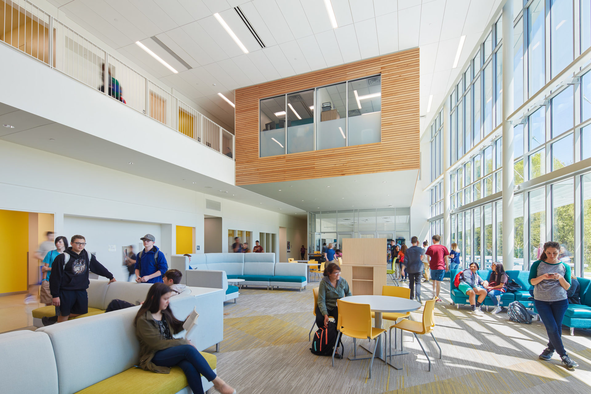 Innovative High School in Flat Rock, NC; Architect: Clark Nexsen